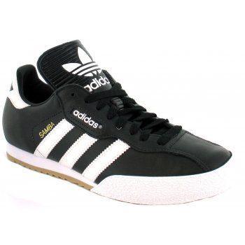 Adidas SAMBA SUPER Mens Indoor Sports Trainers Black