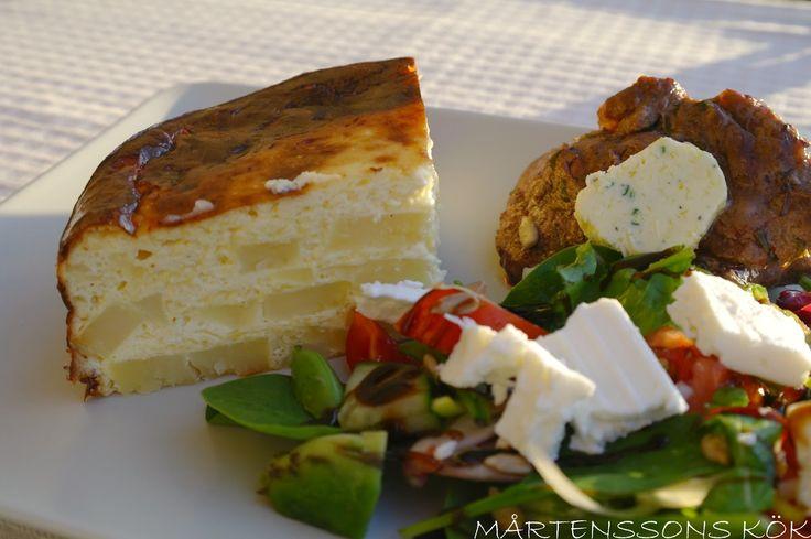 MÅRTENSSONS KÖK: Ljuvlig potatistårta och smakfullt kryddsmör
