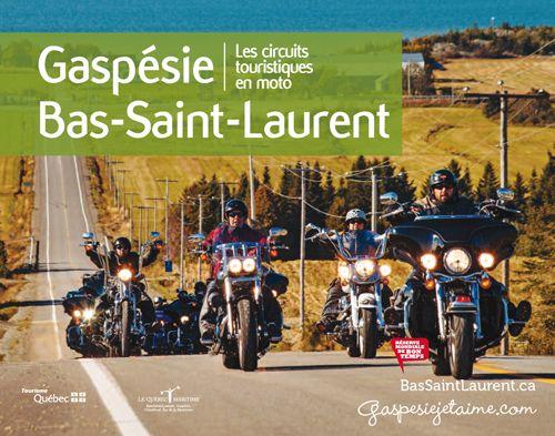 Carnet des circuits touristiques à moto de la Gaspésie