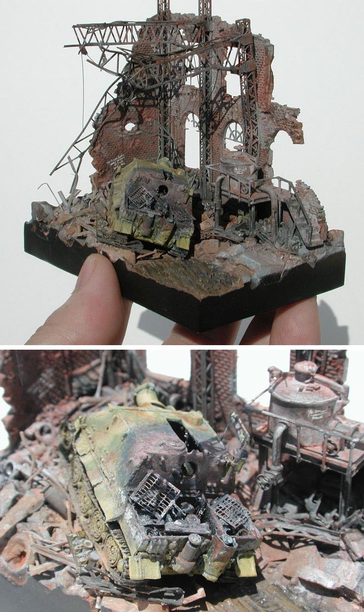 Destroyed   1:144 scale