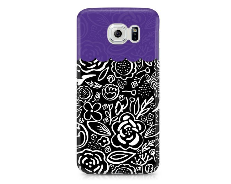 A personal favorite from my Etsy shop https://www.etsy.com/listing/261755925/black-and-white-floral-phone-case-iphone