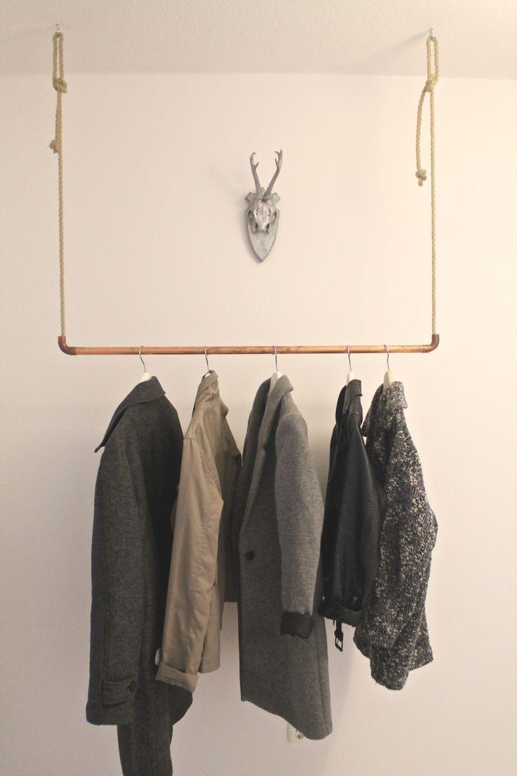 New Wardrobe – DIY – Kupfer und Seil – #DIY #Kupf…
