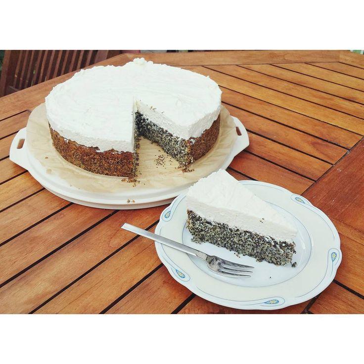Türkischer Mohnkuchen 😊 #poppyseed #mohnkuchen #cake #sallystortenwelt #sallyswelt #luftigleicht #backtag #ilovebaking #türkisch
