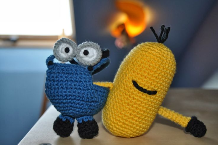 Amigurumi Minion (version 1) Amigurumi / DIY Toys ...