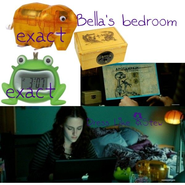 Twilight Bella S Room