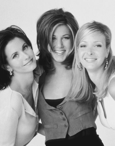 Friends - Courtney Cox, Jennifer Aniston & Lisa Kudrow
