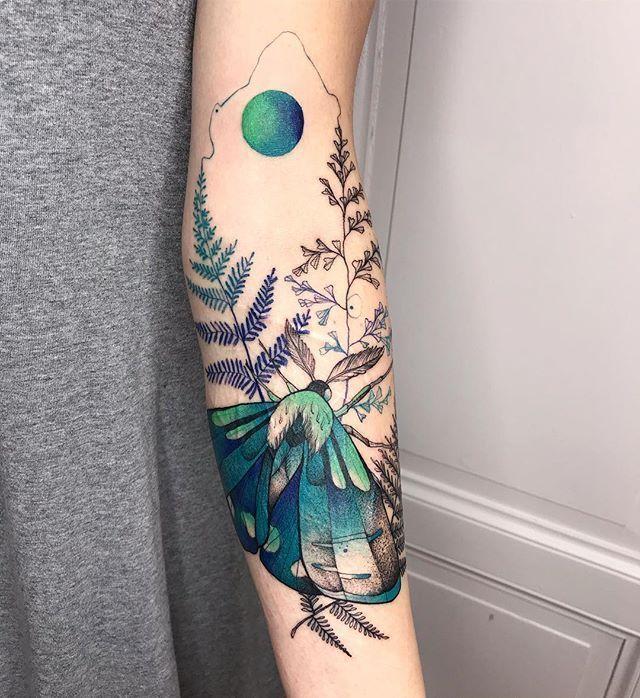 Tattoo Artist Wroclaw Poland On Instagram Motte U Flowers Nature Ideas Tattoo Artist Wroclaw Poland On In 2020 Sleeve Tattoos Bird Tattoos For Women Tattoos