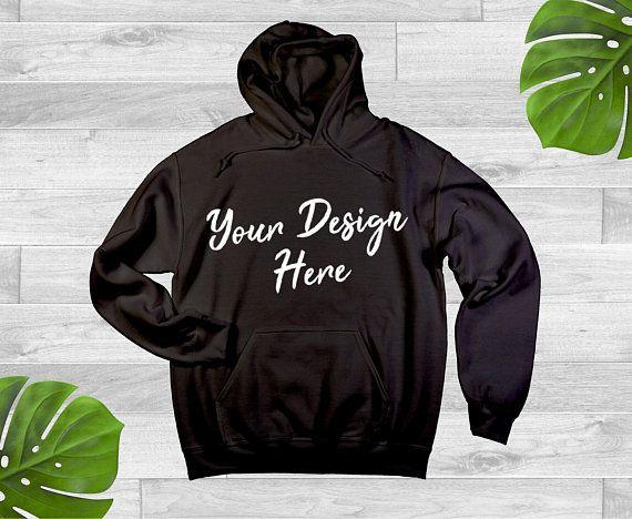 Download Free Plain Black Hoodie Jersey Sweat Shirt Hooded Pullover Mockup Gildan Psd Free Psd Mockups Mockup Free Psd Shirt Mockup Clothing Mockup
