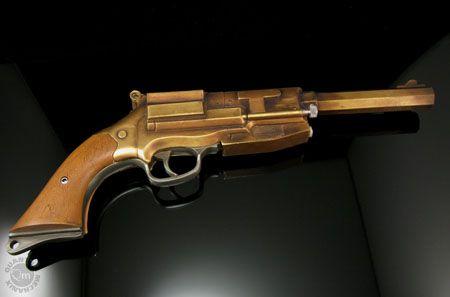 Malcolm Reynolds Metal-Plated Pistol Replica