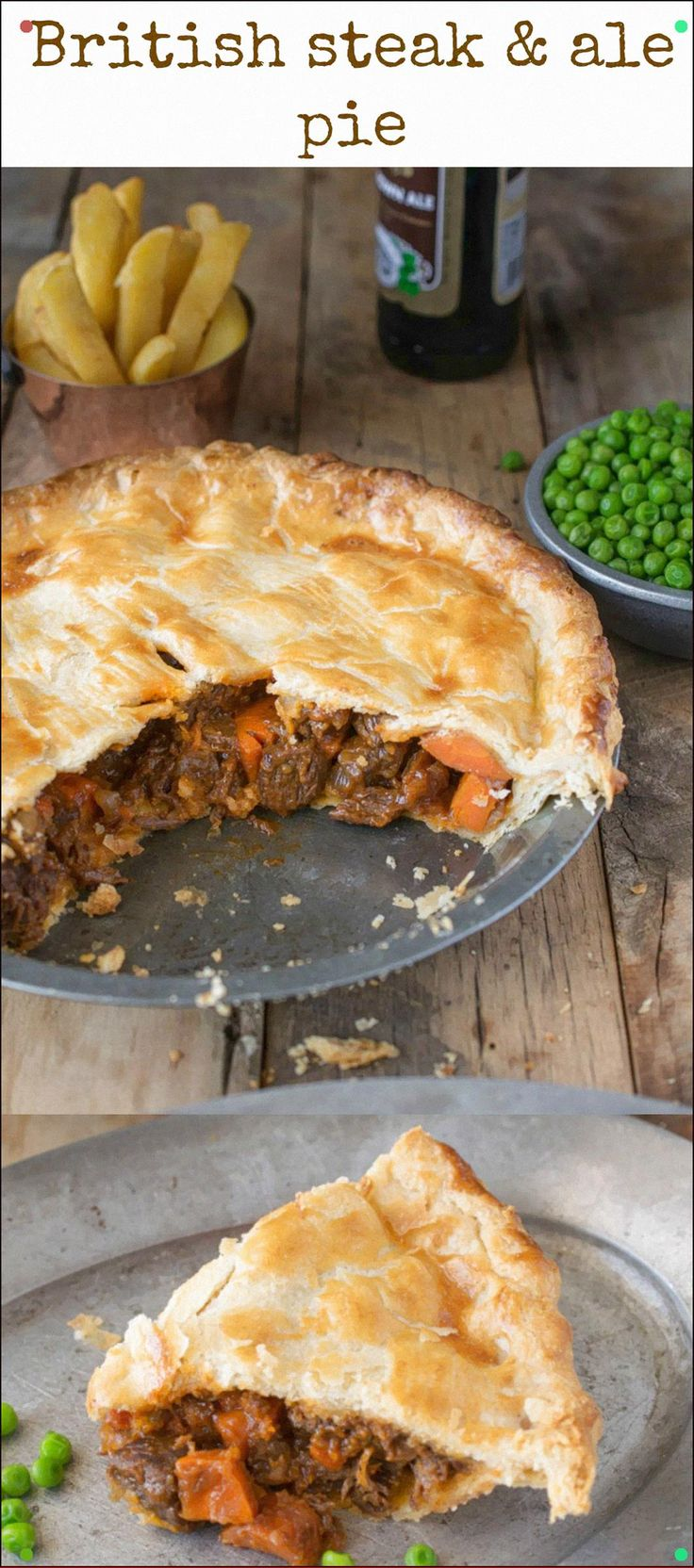 Steak And Ale Pie Is A British Classic Found At Most Pubs ...