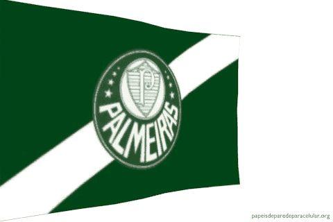 Papel de Parede Gif Animado Bandeira do Palmeiras 480x320