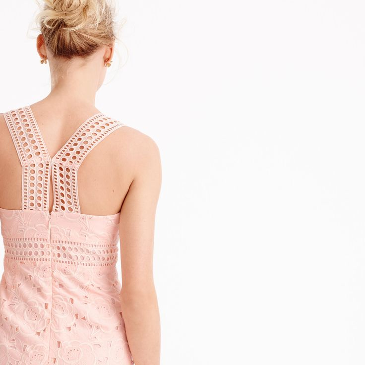 J.Crew Collection dress in Austrian eyelet