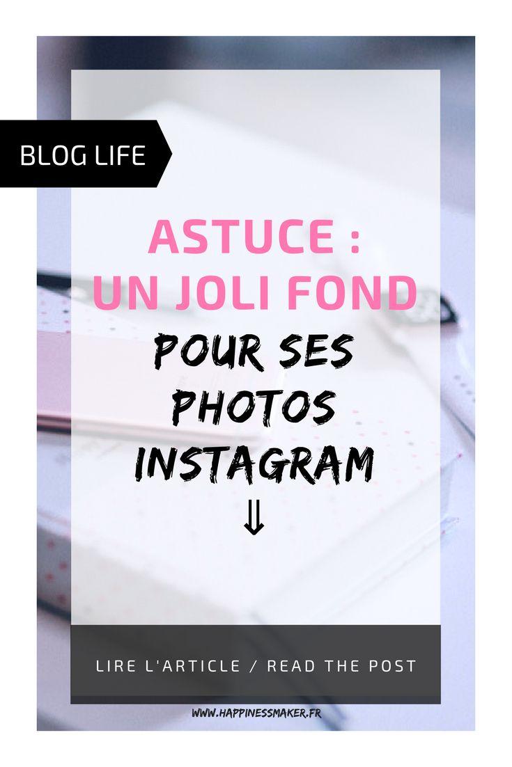 Comment avoir un joli fond pour photos instagram et pour son blog ? Vous n'avez pas de réflex ou d'appareil photo de compétition ? Vous avez un smartphone, une imprimante ? Vous pouvez réussir vos photos pour votre feed instagram ou même vos photos de produits pour votre blog avec cette astuce simplissime !