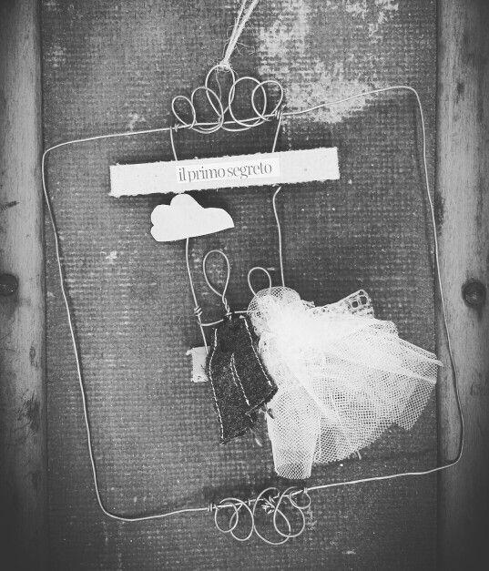 Sposi... #Handmade#homedecor#recupero#cucito#cartone#idee#fildiferro#matrimonio#eventi#wedding#sposi#creamano#CREAzionifatteaMANO#  www.creamano.blogspot.com