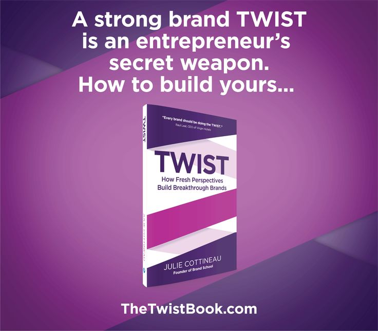 Branding matters for small businesses, entrepreneurs, non-profits and personalities - perhaps even more than large corporations. Why? Because any business in a competitive marketplace needs to get its brand and brand story across quickly and with great impact. TheTwistBook.com
