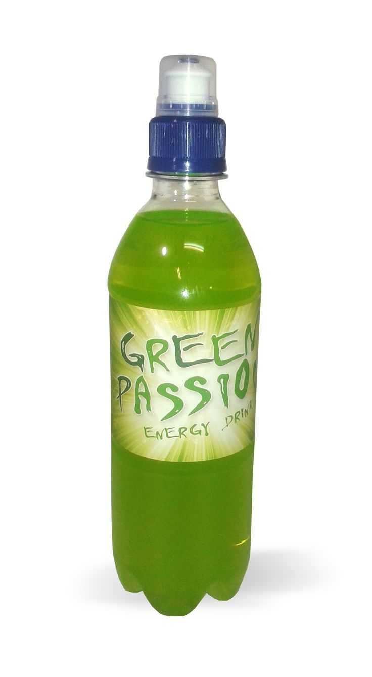 Bebida energética / Energy drink Green Passion  manzana #energy #drink #greenpassion #apple