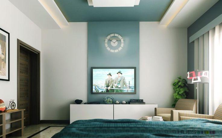 Wall Mounted Tv Ideas In Modern Bedroom Chic Bedroom