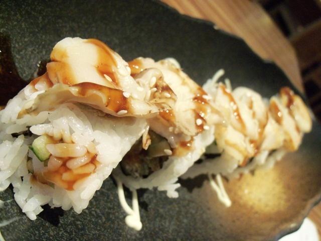 Unagi sushi.
