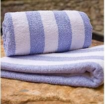 "Riegel Cabana Stripe Pool Towel-30""x70"" - 6 Pk Ocean Blue"