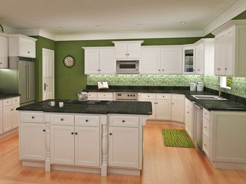 Kitchens With White Cabinets And Green Walls 11 best kitchen images on pinterest | dream kitchens, kitchen