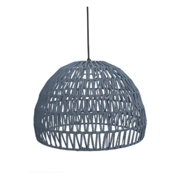 Label51 - hanglamp touw groot - grijs   Blokker