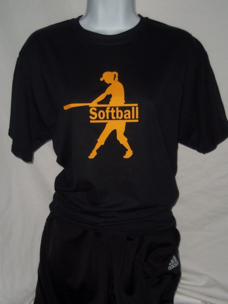Softball Shirt Softball Shirts Custom Softball Shirt Blue Jay Vinyl  Free Shipping March 22-30 by BlueJayVinyl on Etsy
