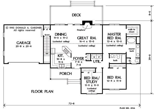 Best 1417Sf Basement Optional Of The Jackson House Plan 400 x 300