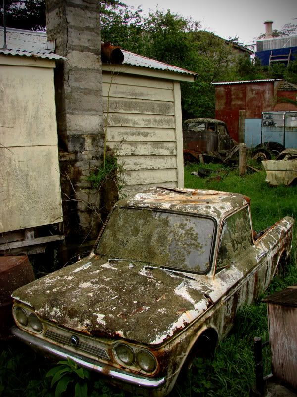 Hillman Imp Sporting A Ute Conversion Dannevirke New Zealand Rusty CarsBarn FindsVintage