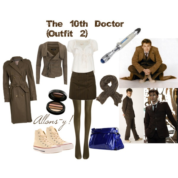 Cutest Tenth Doctor inspired outfit I've seen so far!