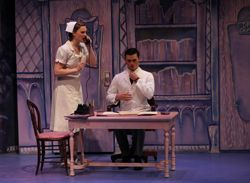 """Connecticut College's Theater Department presents Mary Chase's """"Harvey"""" May  4-8. The performance is directed by Connecticut College senior Kristin Kerr."""