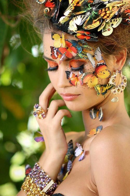 La Maison de Couture de la Cour de Fées. Love this!!! Good idea for a Halloween costume!