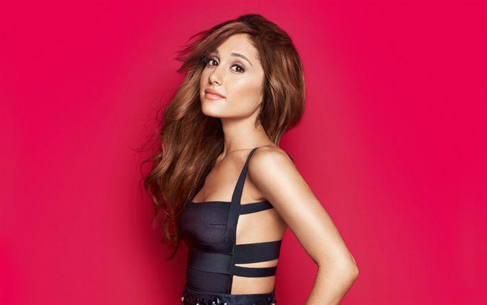 Lataa kuva Ariana Grande, 4k, Hollywood, supertähtiä, amerikkalainen laulaja, photoshoot, kauneus