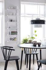 Ellos Home Stol Jolina – 2-pak Sort, Hvid - Stole & skamler   Ellos Mobile