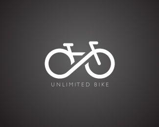Unlimited BikebyBrandCrowd  #logo, #branding, #identity, #bike…