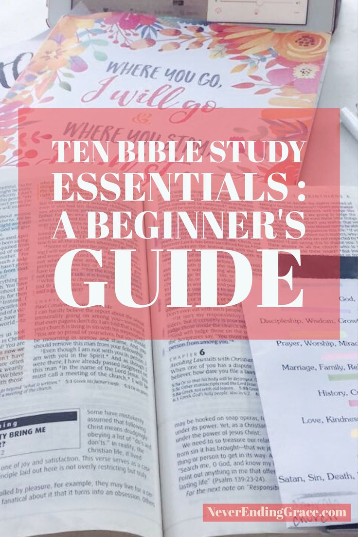 Essential Bible study tools | Christian Forums