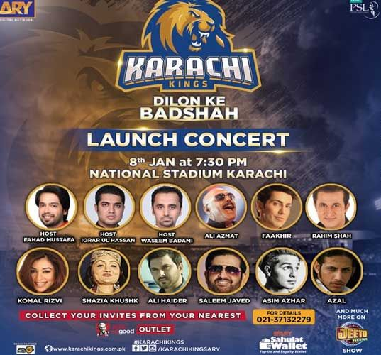 Get the team squad of Karachi Kings for PSL T20 2017. You can get Karachi Kings players list for Pakistan Super League 2017 T20. Here you can get the compl