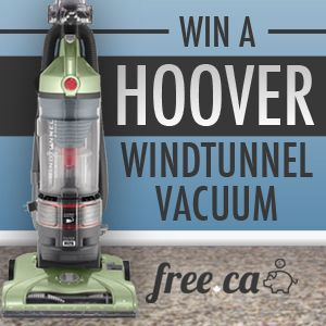 Win a Hoover WindTunnel Vacuum