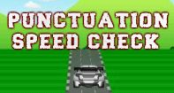 Punctuation Speed Check is a punctuations game for young students to test and build their knowledge of punctuation marks. In this game, you are given an incomplete sentence at the bottom screen. You have to identify the missing punctuation mark in the given options, and click on it to win the race. This game will help students use punctuation marks to separate items in a series, separate an introductory element from the rest of the sentence, set off the words 'yes' and 'no,' set off a tag…