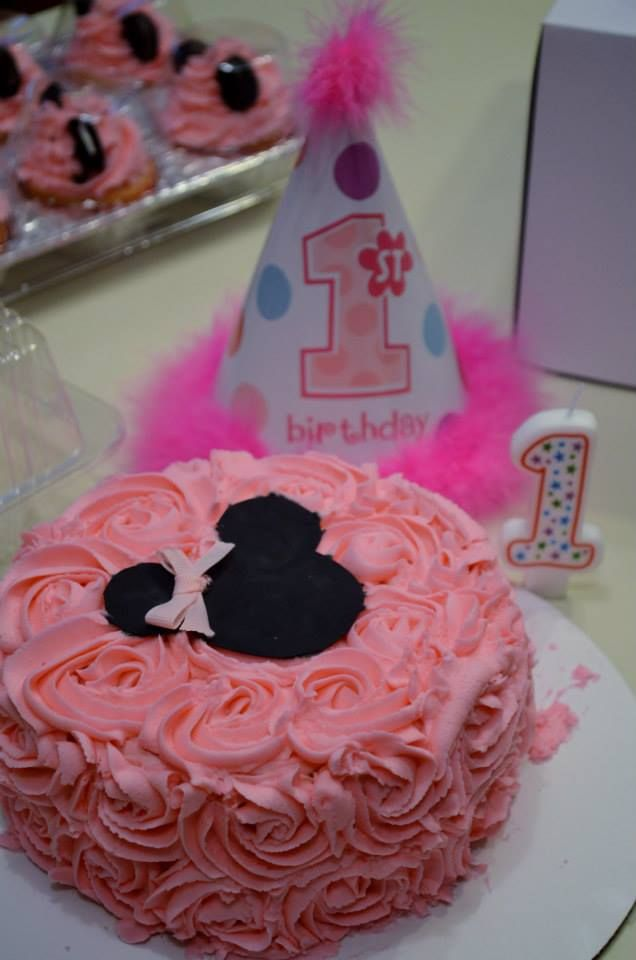 Minnie Mouse Smash Cake | Cakes | Pinterest | Birthdays ...