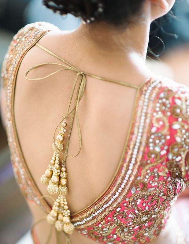 Customizing a stunning wedding lehenga
