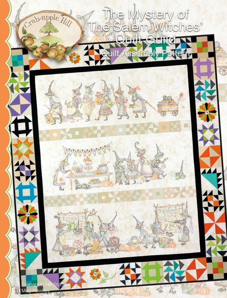 MYSTERY OF THE SALEM WITCHES QUILT ASSEMBLY, From