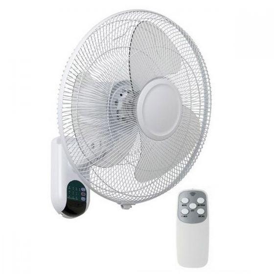Mercator Athena II 3 Blade Wall Fan With remote Control