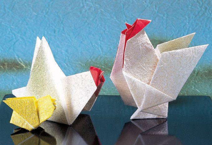折り紙で作ろう 鶏 ニワトリ の折り方 おりがみ ぬくもり シンプル ニワトリ 折り紙 おりがみ 動物 干支 鳥 鶏 酉 クラフト 手作り 作り方 ハンドメイド 手芸 Nukumore 折り紙 おりがみ 折り紙 折り方