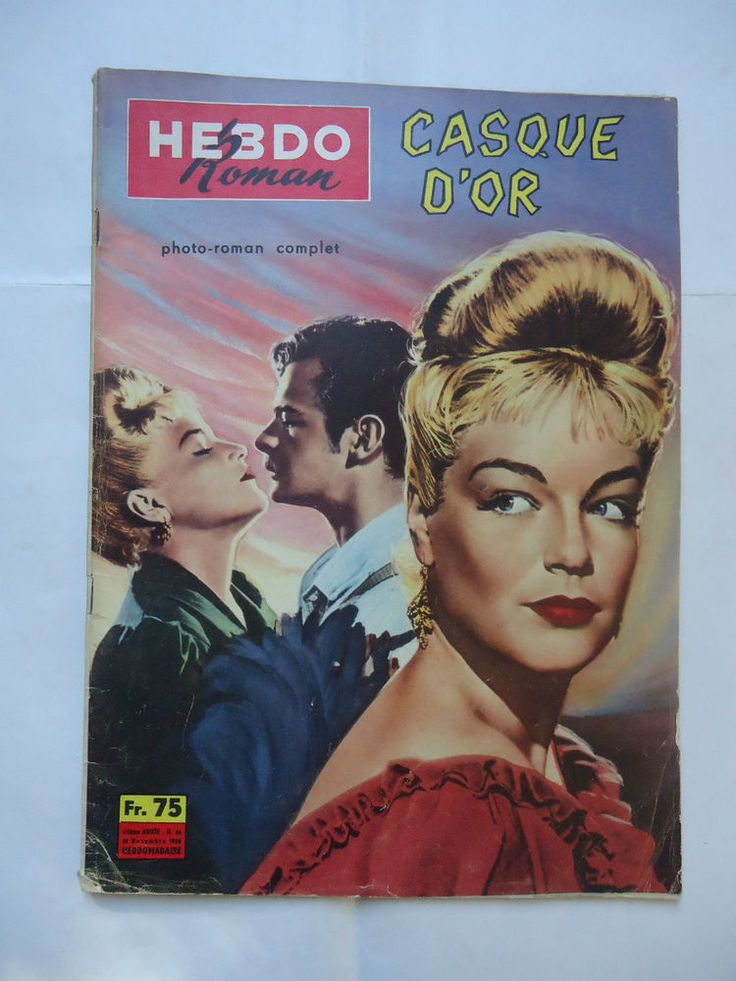 CASQUE D OR/SIMONE SIGNORET/ ME28S/cinéma photoroman    eBay