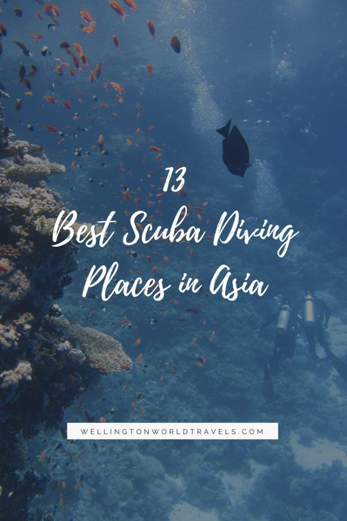 13 Best Scuba Diving Places In Asia