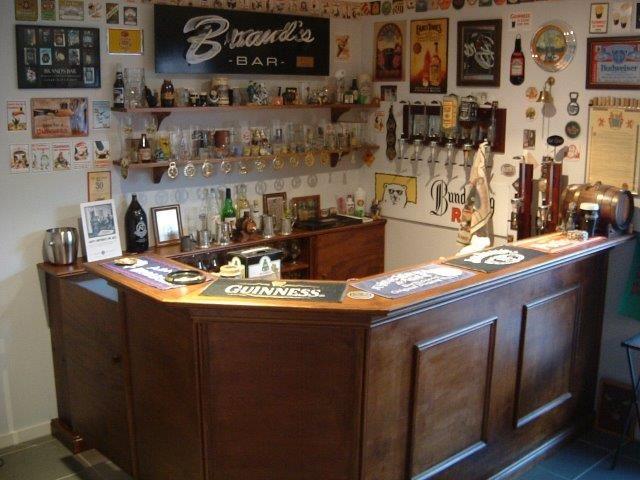 The Bar Nears Completion. Home Bar Diy