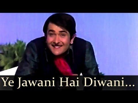 ▶ Kishore Kumar - Yeh Jawani Hai Diwani (Jawani Diwani 1972) Songs - Randhir Kapoor - Jaya Bhaduri - YouTube