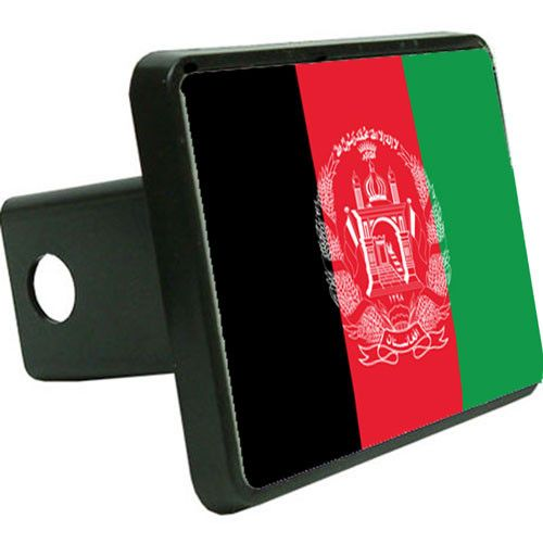 Afghanistan Flag Trailer Hitch Cover