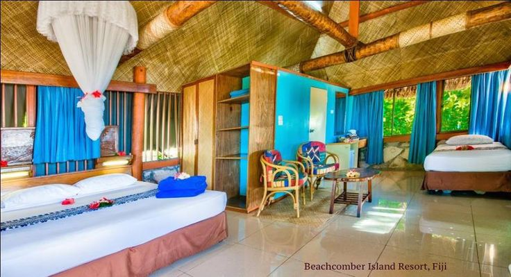 Our traditional themed Bure - filled with decorative charm and an ideal relaxing place to read a novel or soak up the sun on your own private deck equipped with sun lounges.For more information click through to our website www.beachcomberfiji.com