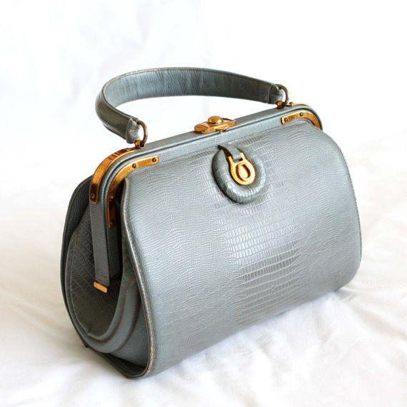 Vintage Handbag 60s ArtCraft Purse Doctor by vintagestylecloset, $79.99